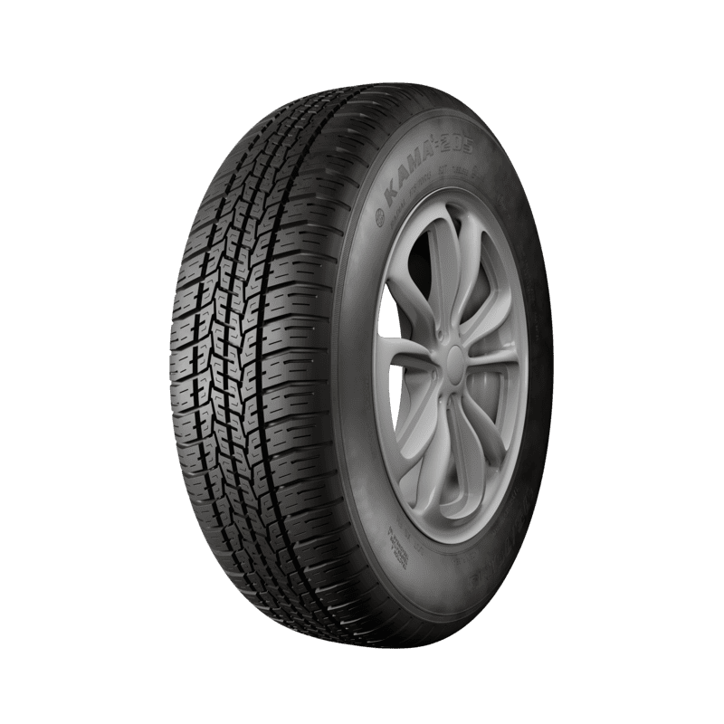 175/70R13 KAMA-205 82T TL made in Russia Passenger car tyre